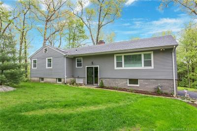 Fairfield County Single Family Home For Sale: 100 Blue Ridge Drive