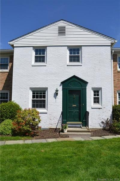 New Canaan Condo/Townhouse For Sale: 105 Heritage Hill Road #105