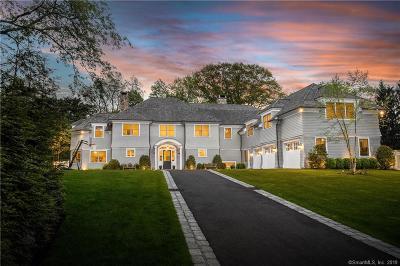 Darien Single Family Home For Sale: 11 Sunswyck Road