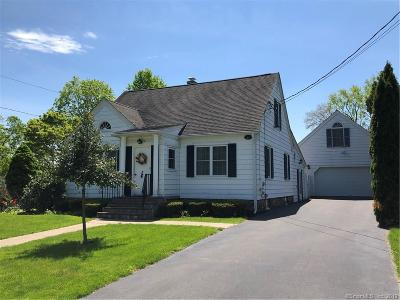 Wallingford Single Family Home For Sale: 59 Hill Avenue