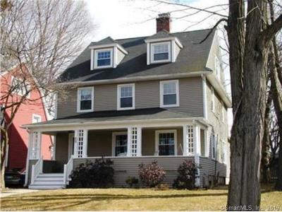 West Hartford Single Family Home For Sale: 40 Whiting Lane