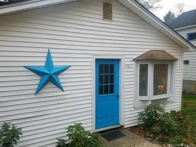 Ellington Single Family Home For Sale: 101 White Road