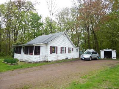 Coventry Single Family Home For Sale: 66 Echo Road