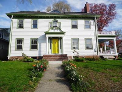 Norwich Single Family Home For Sale: 17 Broad Street
