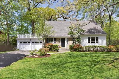 Darien Single Family Home For Sale: 35 Phillips Lane