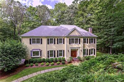 Ridgefield Single Family Home For Sale: 185 Old Branchville Road