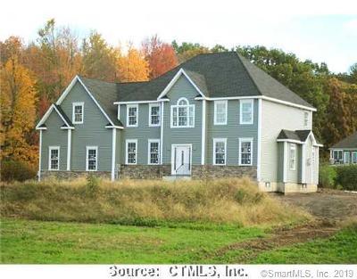 Ellington Single Family Home For Sale: 148 Webster Road