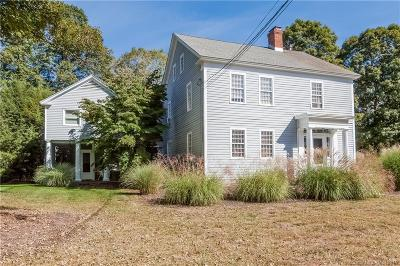 Woodbury Single Family Home For Sale: 32 Good Hill Road