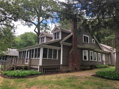 Suffield Single Family Home For Sale: 655 Forest Road