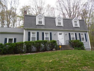 Ledyard Single Family Home For Sale: 1 Robinhood Drive