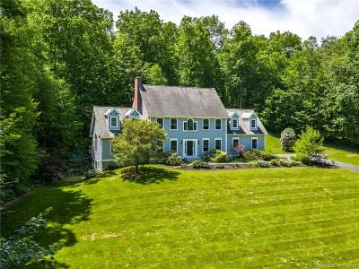 Tolland Single Family Home For Sale: 138 Noah Lane