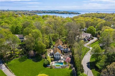 Darien, Easton, Fairfield, New Canaan, New Fairfield, Newtown, Norwalk, Redding, Ridgefield, Shelton, Stamford, Trumbull, Westport, Beacon Falls, Branford, Guilford, Milford, Southbury, West Haven Single Family Home For Sale: 130 Goodwives River Road