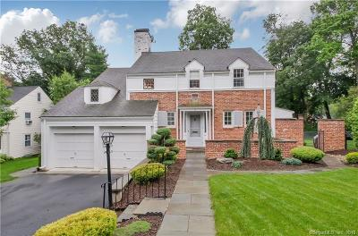 West Hartford Single Family Home For Sale: 17 Hickory Lane