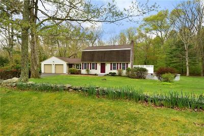 Tolland Single Family Home For Sale: 106 Fox Ridge Lane