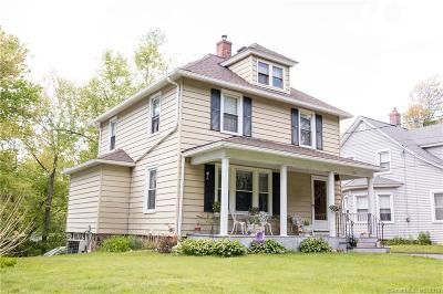 Wethersfield Single Family Home For Sale: 111 Ridge Road