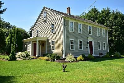 Ellington Single Family Home For Sale: 104 Abbott Road