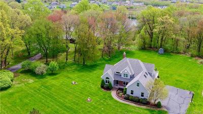 Glastonbury Single Family Home For Sale: 2754 Hebron Avenue