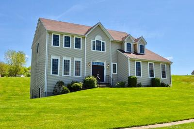 Ellington Single Family Home For Sale: 35 Highland Avenue