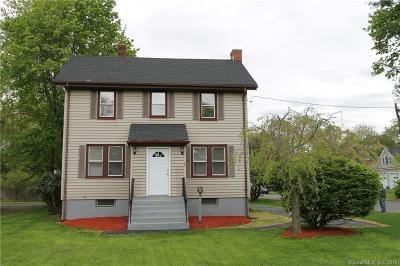 Newington Single Family Home For Sale: 169 Robbins Avenue