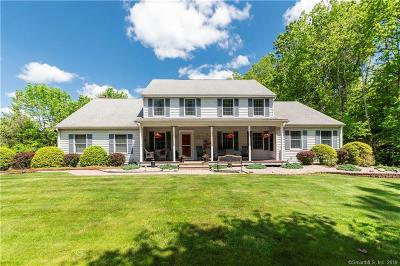 Cheshire Single Family Home For Sale: 278 Cook Hill Road