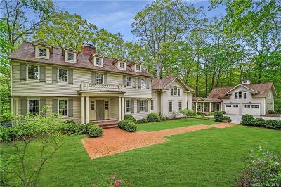 Wilton Single Family Home For Sale: 77 Pheasant Run Road