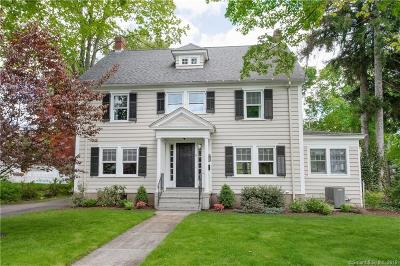 West Hartford Single Family Home For Sale: 16 Lexington Road