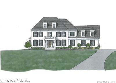 Avon Single Family Home For Sale: 24 Fairway Ridge #Lot 1