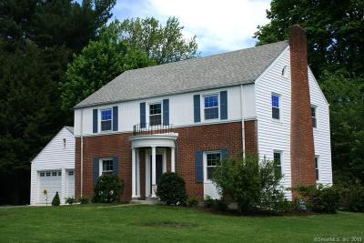 West Hartford Single Family Home For Sale: 6 Overhill Road