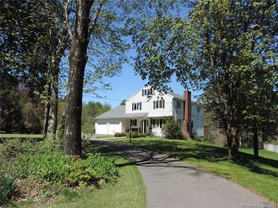 Simsbury Single Family Home For Sale: 305 Bushy Hill Road
