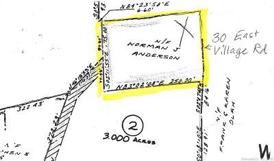 Monroe Residential Lots & Land For Sale: 30 East Village Road