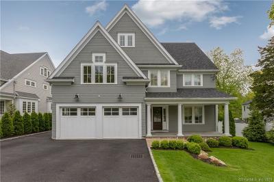 Darien Single Family Home For Sale: 56 Maple Street