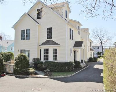 Stamford Condo/Townhouse For Sale: 35 Mayflower Avenue #B