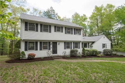 Simsbury Single Family Home For Sale: 21 Sand Hill Road
