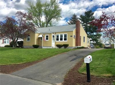 East Windsor Single Family Home For Sale: 170 Prospect Hill Road