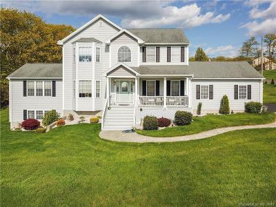 Wolcott Single Family Home For Sale: 20 Ridgecrest Drive