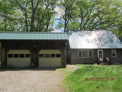 Harwinton Single Family Home For Sale: 20 Hill Road