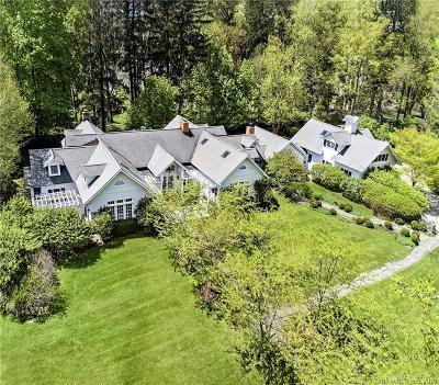 Ridgefield Single Family Home For Sale: 41 Peaceable Street