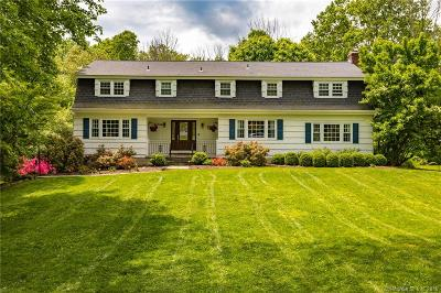 Ridgefield Single Family Home For Sale: 25 Holmes Road