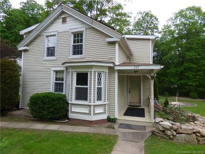 Prospect Single Family Home For Sale: 249 Cheshire Road