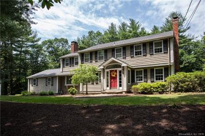 Simsbury Single Family Home For Sale: 29 Drumlin Road