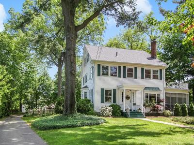 Wethersfield Single Family Home For Sale: 540 Wolcott Hill Road