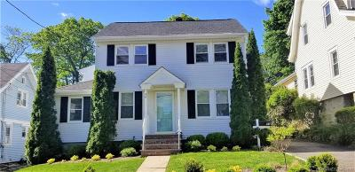 Stamford Single Family Home For Sale: 96 Knapp Street