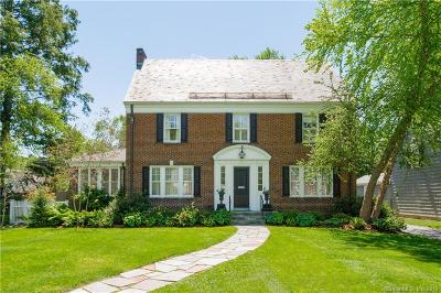 West Hartford Single Family Home For Sale: 9 Birch Road