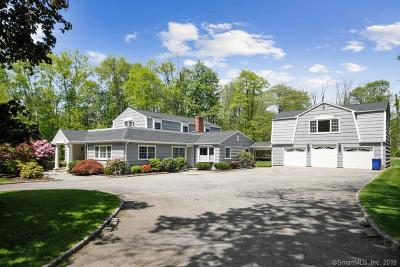 Wilton Single Family Home For Sale: 439 Belden Hill Road
