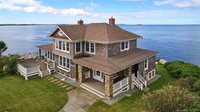Groton Long Point Single Family Home For Sale: 8 Clubhouse Point Road