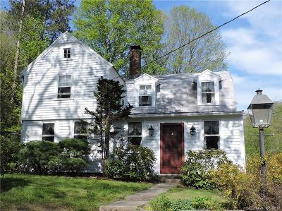 Woodbury Single Family Home For Sale: 59 Old Sherman Hill Road