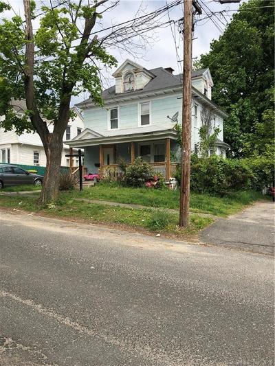 Waterbury Single Family Home For Sale: 60 Morningside Avenue