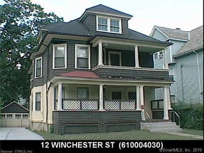 Hartford Multi Family Home For Sale: 12 Winchester Street
