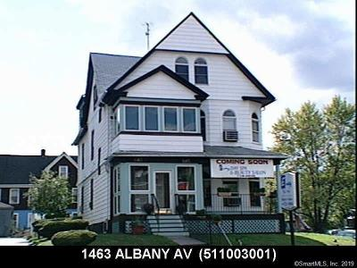 Hartford Multi Family Home For Sale: 1463 Albany Avenue
