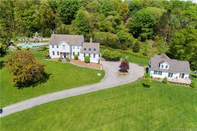 Ridgefield Single Family Home For Sale: 34 Salem View Drive